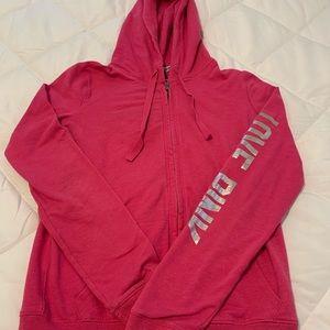VS PINK Full Zip Hooded Jacket